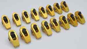 Crane Cams 13750-16 - Crane Cams Gold Race Roller Rocker Arms