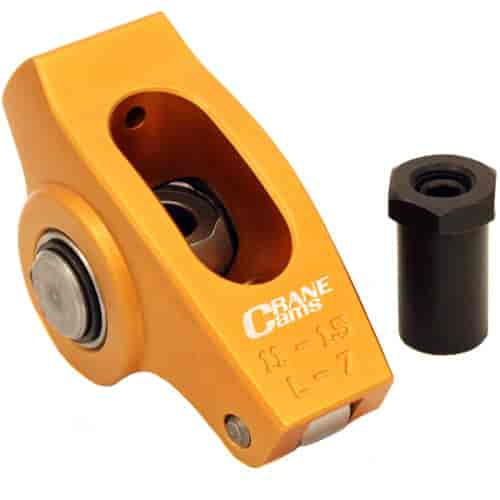 Crane Cams 11750-16: Gold Race Rocker Arms 1.5 Ratio, 3/8