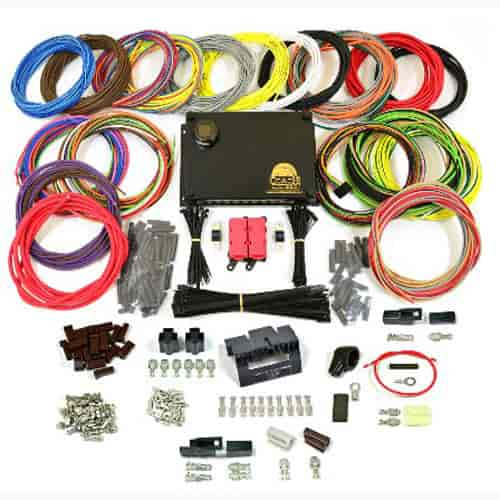 coach controls coupe-23b: coupe-23 complete wiring kit universal street rod and muscle car wire ... auto wiring harness kits ford wiring harness kits