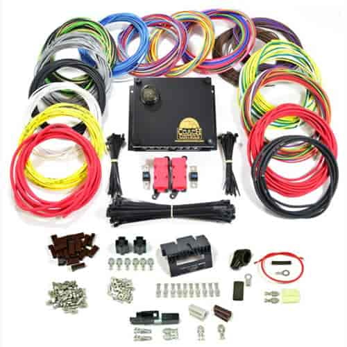 Coach Controls RDSTER-18: Roadster-18 Complete Wiring Kit Universal ...