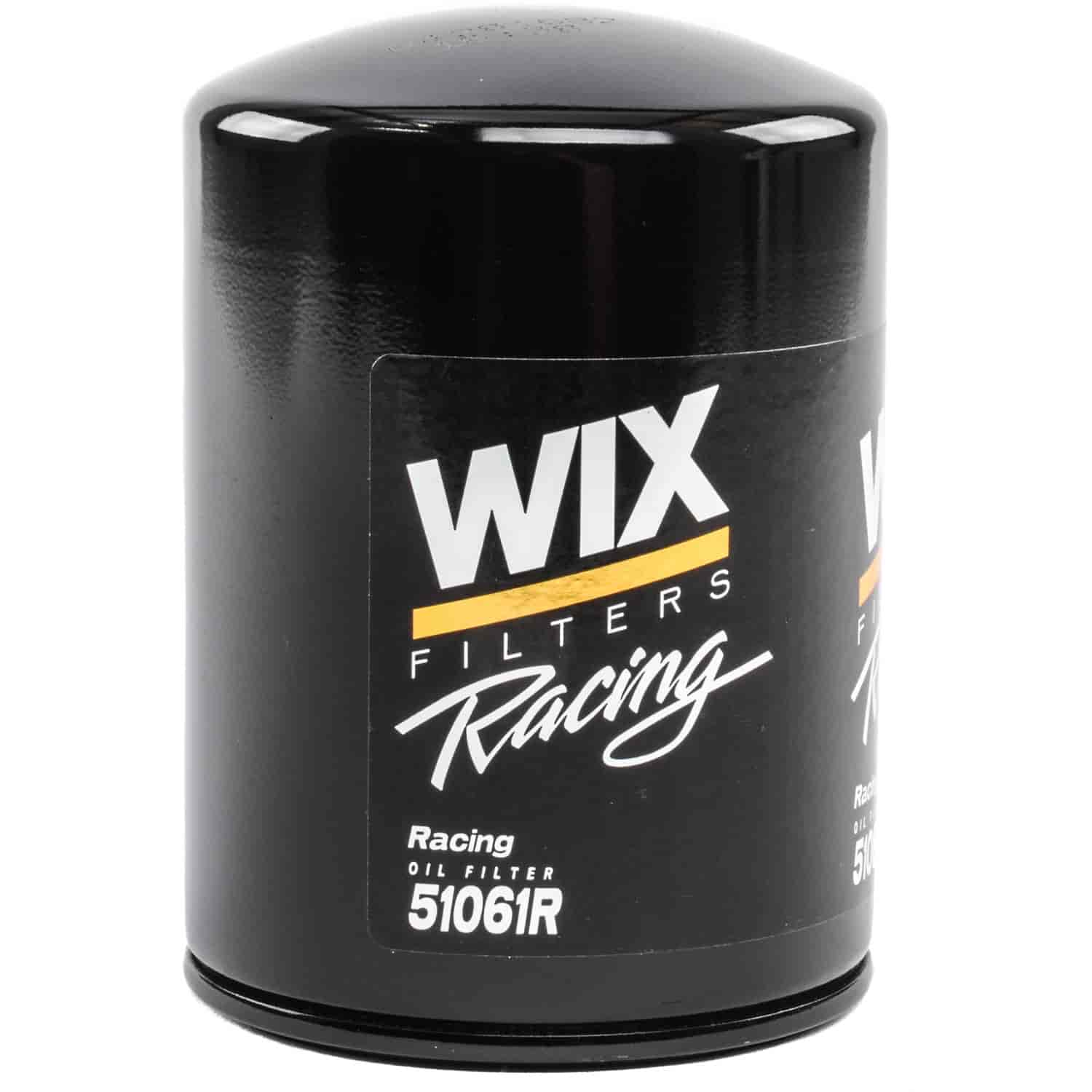 wix fuel filter catalog wix racing filters 51061r: wix racing oil filter height: 5 ...