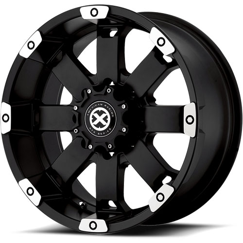 American Racing 18578087700 - American Racing Crawl Series 185 Matte Black Machined Wheel