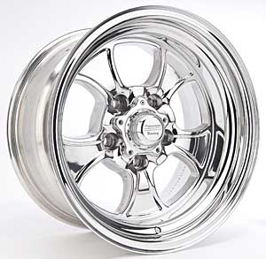 American Racing #550-5873 - American Racing Hopster Polished Wheels