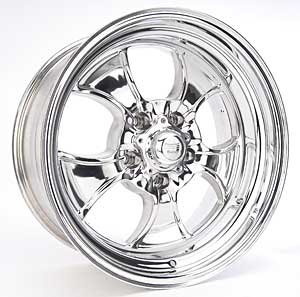 American Racing 550-7861 - American Racing Hopster Polished Wheels