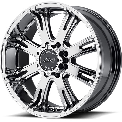American Racing 70878580820 - American Racing Ribelle Series 708 Chrome (Bright PVD) Wheels
