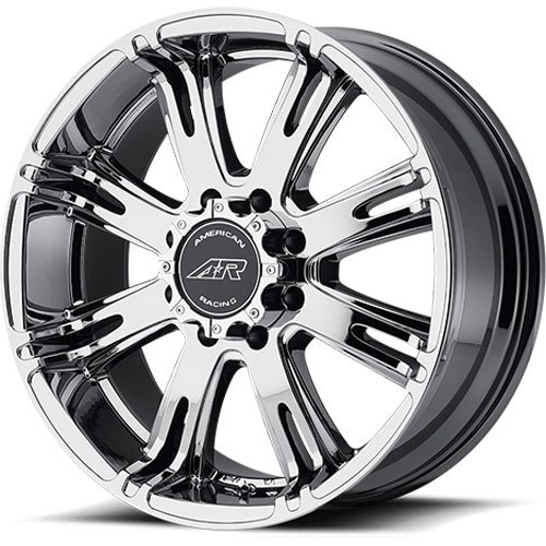 American Racing 70822963820 - American Racing Ribelle Series 708 Chrome (Bright PVD) Wheels
