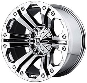 American Racing 77889067218 - American Racing Monster Series XD778 Chrome Wheels