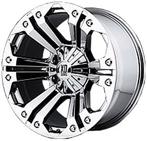 American Racing 77889067218 - American Racing Chrome Monster Series XD778 Wheels