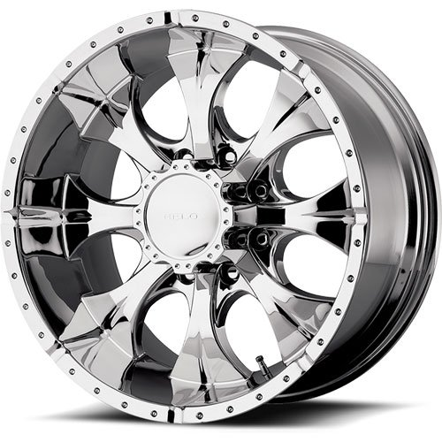 American Racing 7916060225 - American Racing Helo Series 791 Chrome Wheels