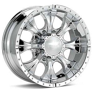 American Racing 7916880200 - Helo HE791 Maxx Series Chrome Finish Wheels