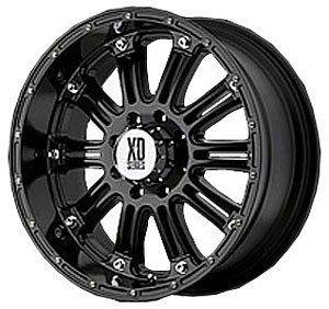 American Racing 79568080300 - American Racing Hoss Series XD795 Gloss Black Wheels