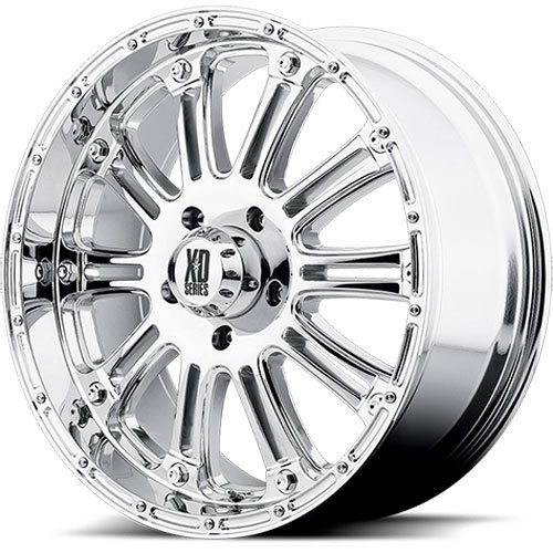 American Racing 79589063218 - American Racing Hoss Series XD795 Chrome Wheels