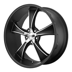 American Racing 80522949732 - American Racing VN805 Series Satin Black BLVD Wheels