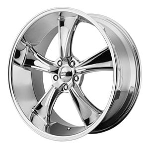 American Racing 80589534200 - American Racing VN805 Series Chrome BLVD Wheels