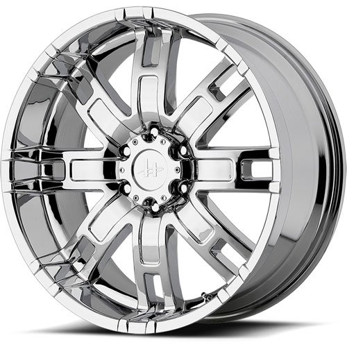 American Racing 83578068200 - Helo HE835 Series Chrome Finish Wheels