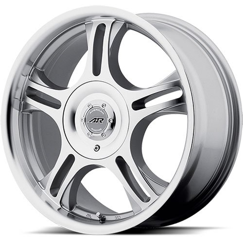 American Racing 9587517 - American Racing AR95 Series Estrella Machined Finish Wheels