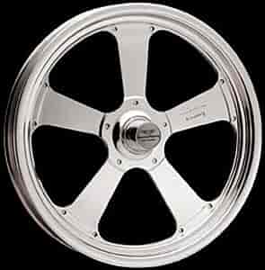 American Racing Pro Series AR48053S - American Racing Pro Series Polished TrakStar 480F Series Front Wheels