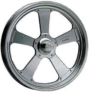 American Racing Pro Series AR48053SBC - American Racing Pro Series Black Chrome TrakStar 480F Series Front Wheels