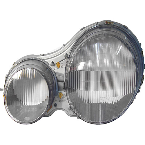 Hella 144231031 oe replacement headlamp assembly 1995 02 for Mercedes benz headlight replacement