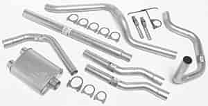 Dynomax 17312 - Dynomax Bolt-On Cat Back Exhaust Systems for Trucks and SUVs