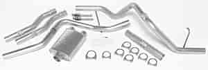 Dynomax 17322 - Dynomax Bolt-On Cat Back Exhaust Systems for Trucks and SUVs