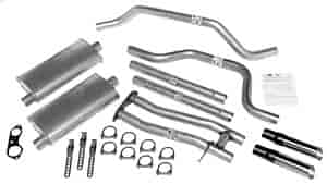 Dynomax 17363 - Dynomax Bolt-On Cat Back Exhaust Systems for Trucks and SUVs