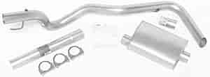 Dynomax 17443 - Dynomax Bolt-On Cat Back Exhaust Systems for Trucks and SUVs