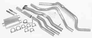 Dynomax 19301 - Dynomax Bolt-On Cat Back Exhaust Systems for Trucks and SUVs