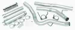 Dynomax 19383 - Dynomax Bolt-On Cat Back Exhaust Systems for Trucks and SUVs