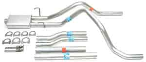Dynomax 19388 - Dynomax Bolt-On Cat Back Exhaust Systems for Trucks and SUVs