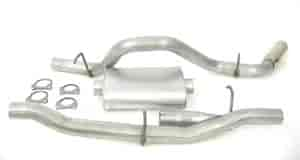 Dynomax 19458 - Dynomax Bolt-On Cat Back Exhaust Systems for Trucks and SUVs