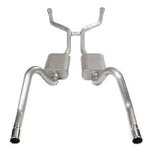 Dynomax 38025 - Dynomax VT Series Stainless Steel Header-Back Exhaust Systems