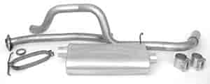 Dynomax 39315 - Dynomax Bolt-On Cat Back Exhaust Systems for Trucks and SUVs
