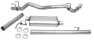 Dynomax 39498 - Dynomax Bolt-On Cat Back Exhaust Systems for Trucks and SUVs
