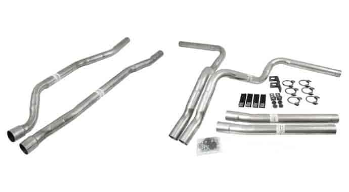 Dynomax 89004 - Dynomax Header and Manifold Dual Kits