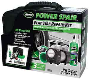 Slime 70004 - Slime Power Spair Flat Tire Repair Kit