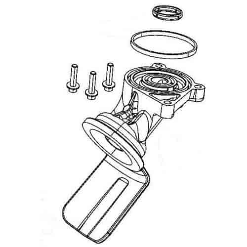 mopar accessories 53021610afk  oil filter relocation kit 5