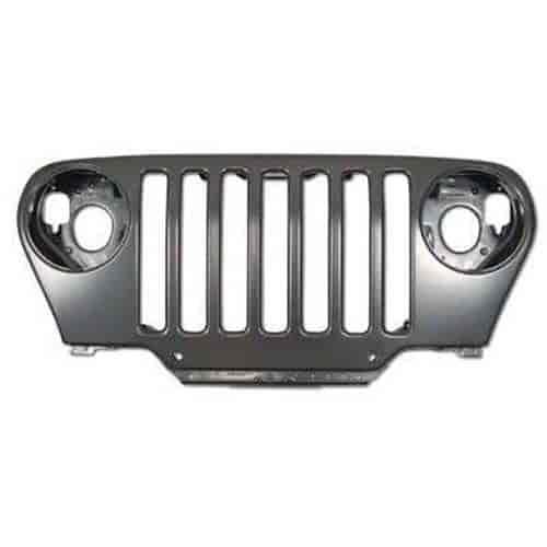 Mopar Jeep Accessories Wrangler: Mopar Accessories 55174594AG: Jeep Grille Fits 1997-06