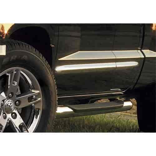 mopar accessories 82209224 chrome door molding 2005 11 dodge dakota. Cars Review. Best American Auto & Cars Review