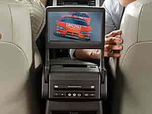 Mopar Accessories Floor Console Mounted DVD Rear Seat Video 2005-07  Chrysler 300/Dodge Magnum