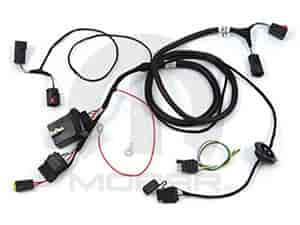 mopar accessories trailer tow wiring harness kit 2005-10 chrysler 300   mopar accessories 82209471ab