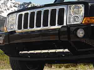 Mopar Accessories 82209908ab Grille 2006 10 Jeep Commander Base Models Jegs
