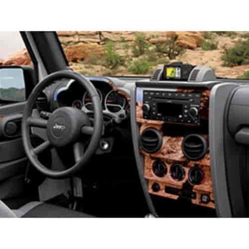 Mopar Jeep Accessories Wrangler: Mopar Accessories 82210620: Interior Trim Kit 2007-10 Jeep