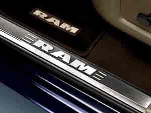 Ram 1500 Accessories >> Mopar Accessories Door Sill Guards 2011 14 Dodge Ram 1500 2500 3500 4500 5500