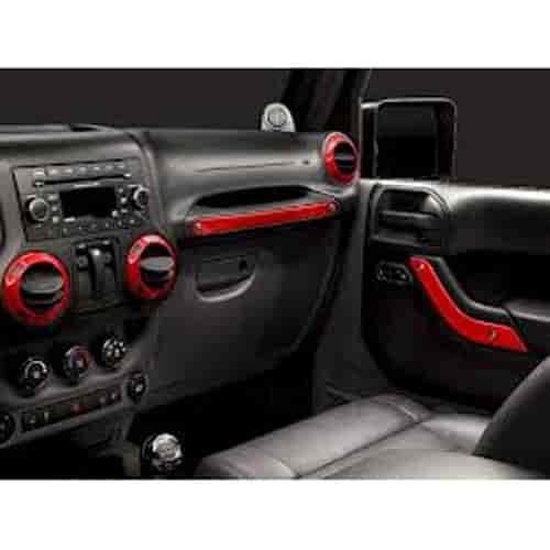 Mopar Jeep Accessories Wrangler: Mopar Accessories 82212939: Interior Trim Kit 2011-13 Jeep