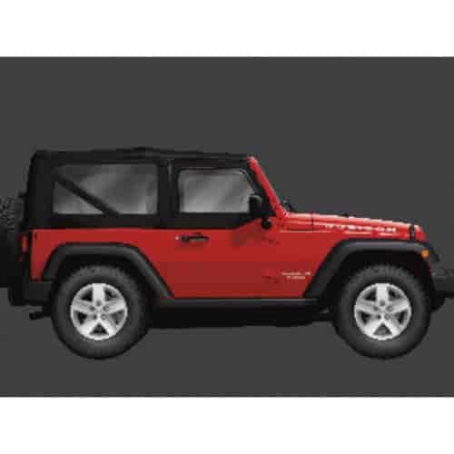 Mopar Jeep Accessories Wrangler: Mopar Accessories 82213651: Complete Soft Top Kit 2007