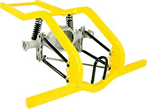 Competition Engineering 28023K - Competition Engineering 4-Link Rear Frame Rails & Kits