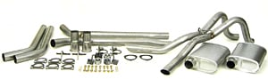 Dynomax 89025 - Thrush Header Back Exhaust Systems