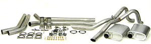 Dynomax 89024 - Thrush Header Back Exhaust Systems