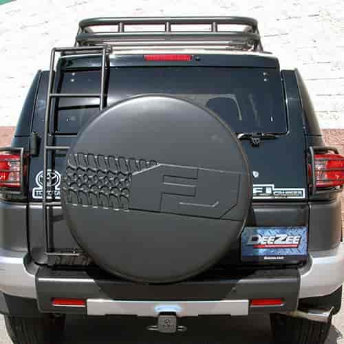 Dee Zee 760611 - Dee Zee Toyota FJ Cruiser Mounted Ladder